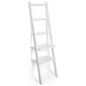 Multi-Tiered Leaning Ladder Rack Shelves