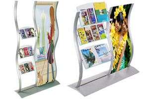 Curved Brochure Racks