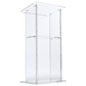 Clear Acrylic Podium with Book Stop