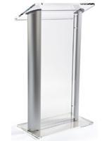 Contemporary Aluminum & Acrylic Podium
