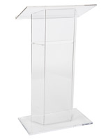 Acrylic Lectern, 26.75 Overall Height