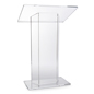 "Large Top ""CV"" Acrylic Podium"