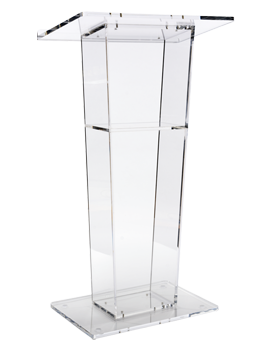 the best acrylic podium