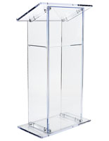 Traditional Acrylic Lectern