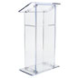 Streamlined Acrylic Lectern
