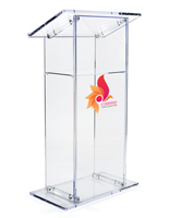 Knock Down Branded Lectern