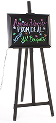 LED Write-on Menu Signs with Easel Stand