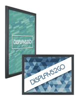 Wall-Mounted Slim LED Poster Display