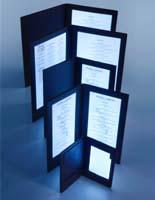 These LED Menus are Great for Upscale Restaurants