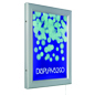 "18"" x 24"" Hinged LED Poster Frame for Wall Mounting"