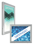 "22"" x 28"" Swing-Open LED Poster Frame with Hinged Door"