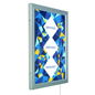 "27"" x 40"" Outdoor LED Frame with Swing-Open Door"
