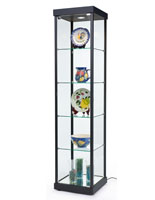 "LED Tower Display Case, 17"" Shelf Width"