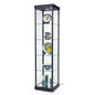 "LED Tower Display Case, 17"" Shelf Depth"