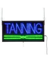 LED Tanning Signs