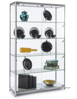 Wide LED Display Case for Specialty Stores