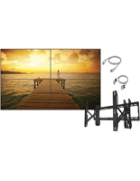 2x2 HD Video Wall Bundle for Universities