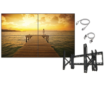 2x2 HD Video Wall Bundle with Super Narrow Bezels