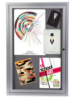24鈥� x 36鈥� Fabric Bulletin Board for Offices
