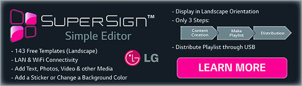 LG SuperSign Software