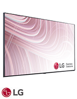 Commercial grade TV for signage with 3840 X 2160 UHD display resolution