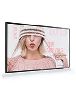 Digital signage TV with 4K ultra HD quality display