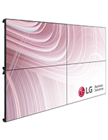 4 TV video wall system with 55 inch LG TV panels