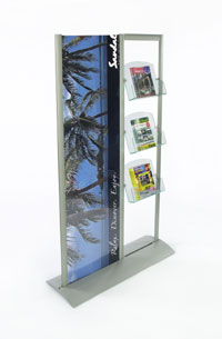Use these outdoor poster holders to protect graphics and other signage.