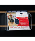 Postcard Rack Great for Marketing Materials