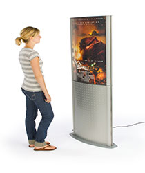 light box poster stands