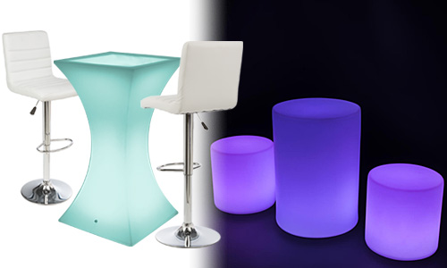 LED furniture sets
