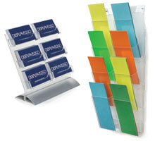 Literature Holders in the Workshop Series by Displays2go
