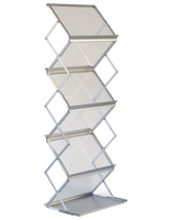 Height Adjustable Literature Rack