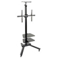 2 Shelf TV Stand, 154lb Weight Capacity