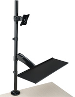 Tilting Extra Tall Monitor Arm