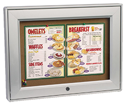 Outdoor Menu Display