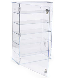 displays2go all products display cases countertop display showcases
