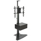 Video Conference Stand With Power Supply for Retail Stores
