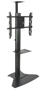 Floor Standing TV Stand With Power Supply for Community Centers