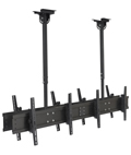 Quad TV Ceiling Mount for Malls