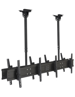 Quad TV Ceiling Mount for Lobbies
