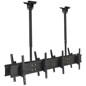 Quad TV Ceiling Mount, Holds 352lbs