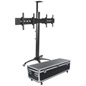 Industrial TV Stand with Case, Portable