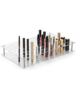 Clear Acrylic Retail Counter Makeup Display