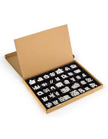 "2"" Helvetica Changable Letter Set"