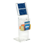 Clear Floor Standing Lead Box