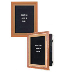 maple letter boards