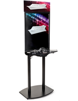 Phone Charging Info Kiosk with Sanp Frame