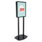 22x28 Twin Pole Sign Stand for Promotional Posters
