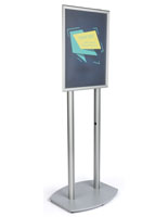 22x28 Double Pole Poster Frame for Promotional Signage